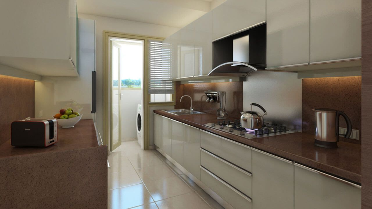 L T Emerald Isle Powai Modular Kitchen Emerald Isle Modern Design Kitchen