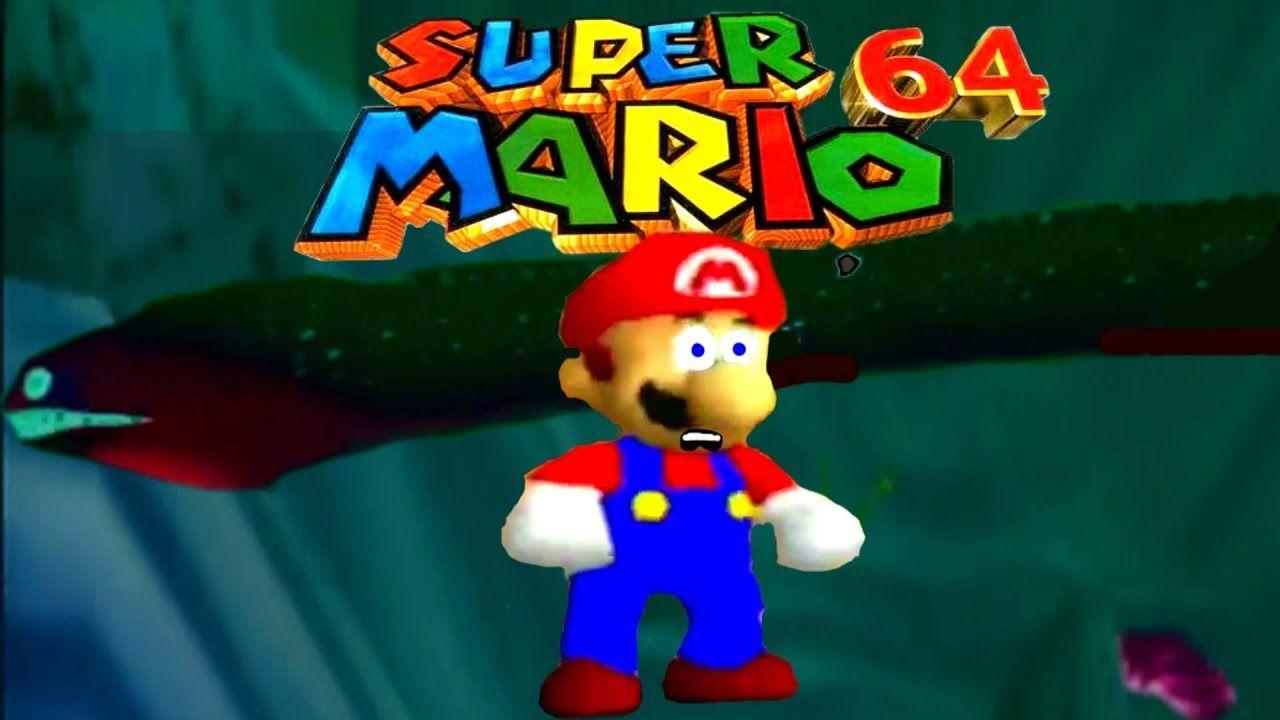 Super Mario 64 Part 2 This Eel Is Terrifying Super Mario