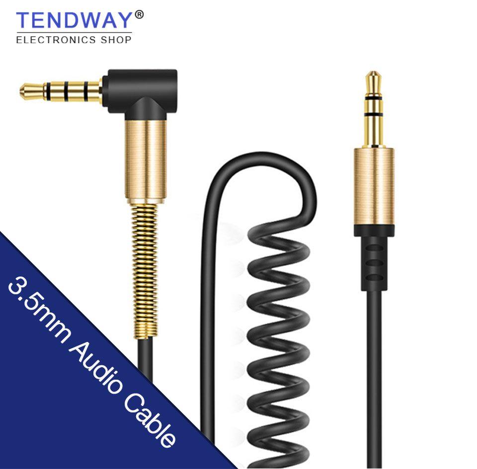 Kaufen 3,5mm Stecker auf Stecker Audio-kabel Jack 3 5 Aux Kabel Für ...