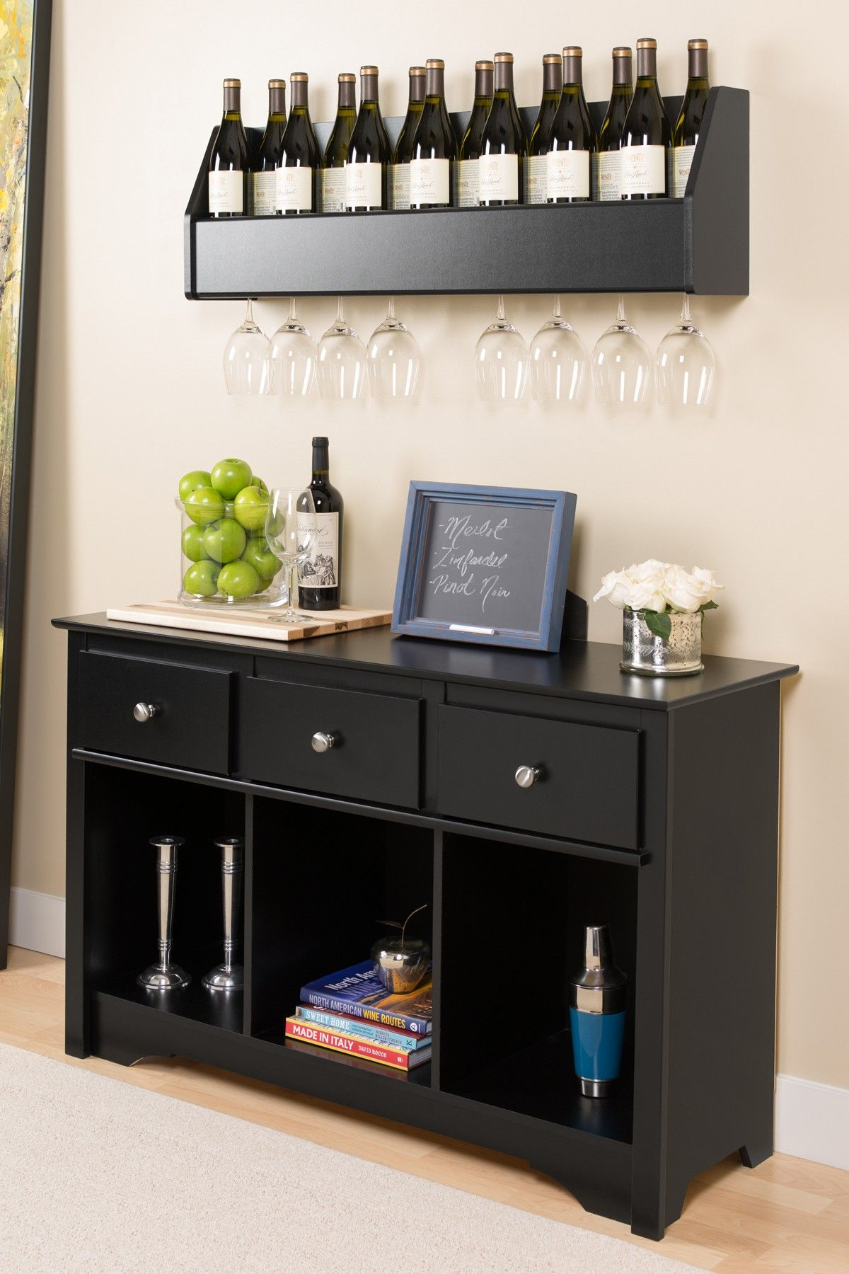I Like The Clean Organization And Layout On Top Of Cabinet Great For Small Es Apartment If In Need A Mini Bar Buffet Table