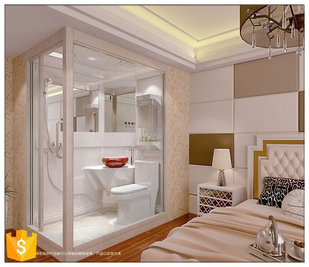 Cheap But High Quality Bathroom Prefab Modular Bathroom Units - Buy ...