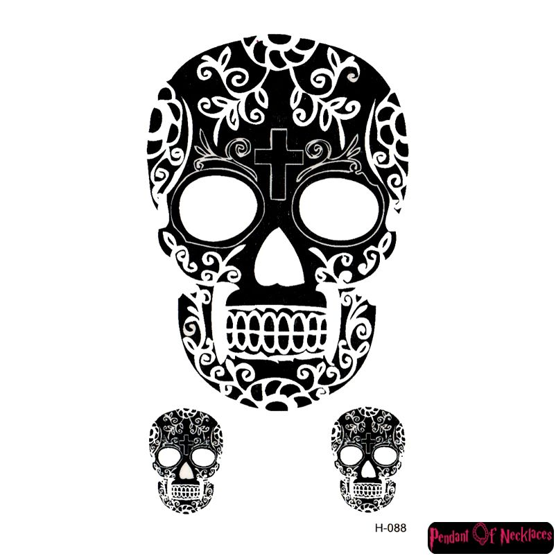 9a91a1830 Waterproof temporary small skull tattoos stickers for men and women  Description 100% brand new Color: as picture Theme: tattoos Gender: men  Tattoo paper ...