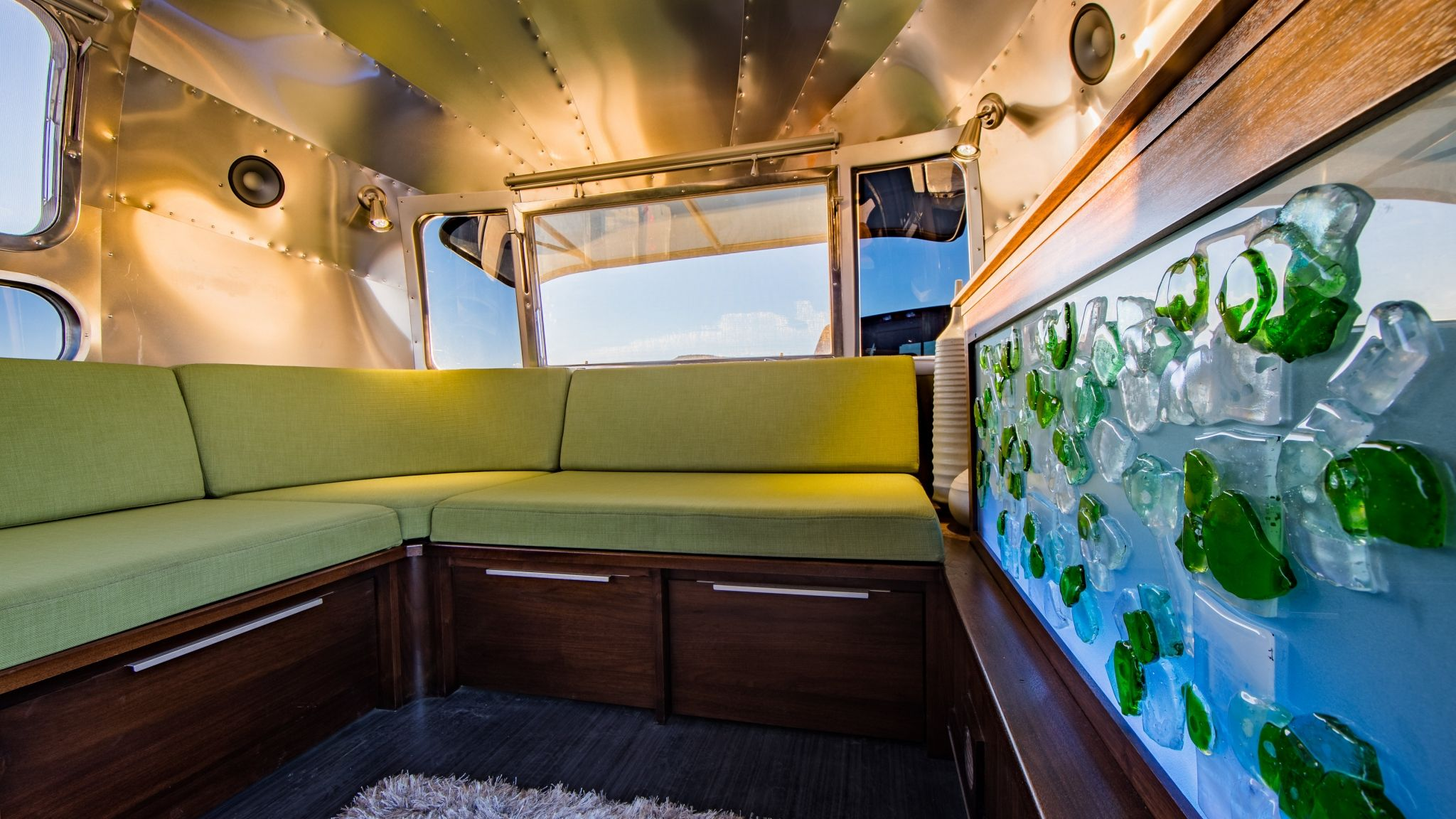 Airstream Rebuild Camper ReParadise Airstream renovation