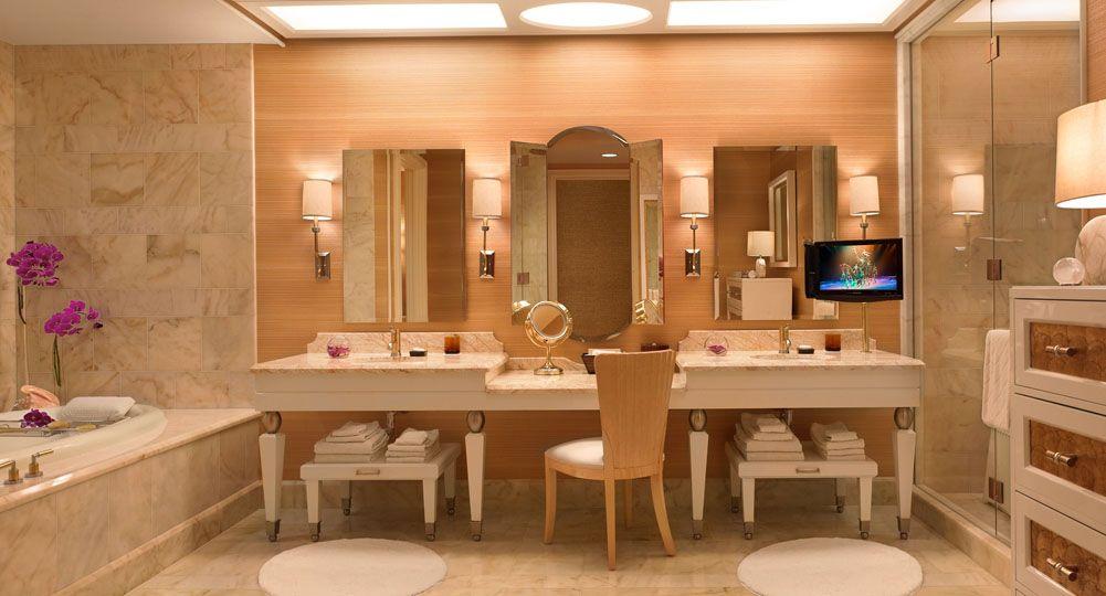 Bathroom Design Las Vegas the salon suite bathrooms at the wynn las vegas. fore more