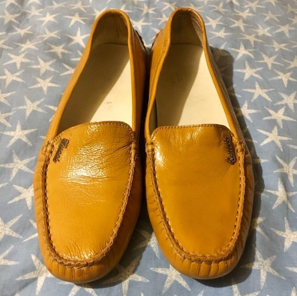 USED Gucci Patent Leather Driving