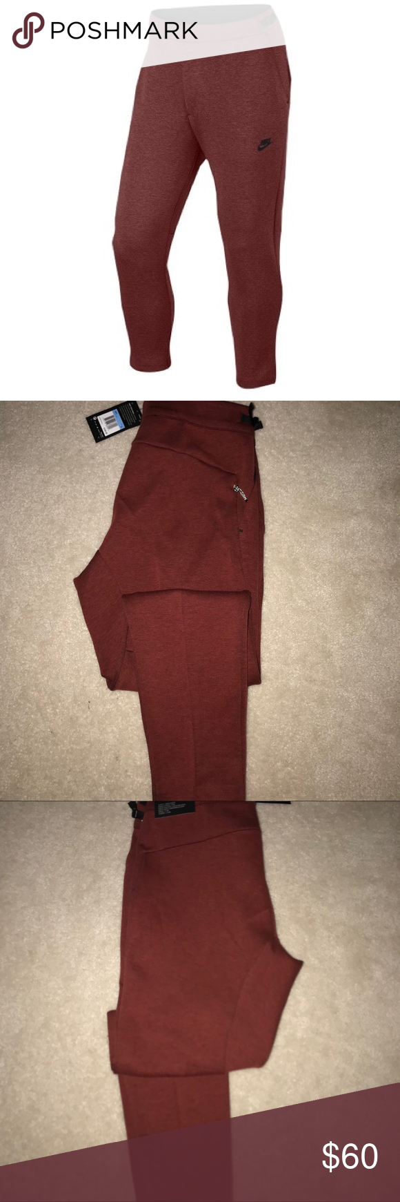 Nike tech fleece cropped joggers nwt nike tech fleece nike tech