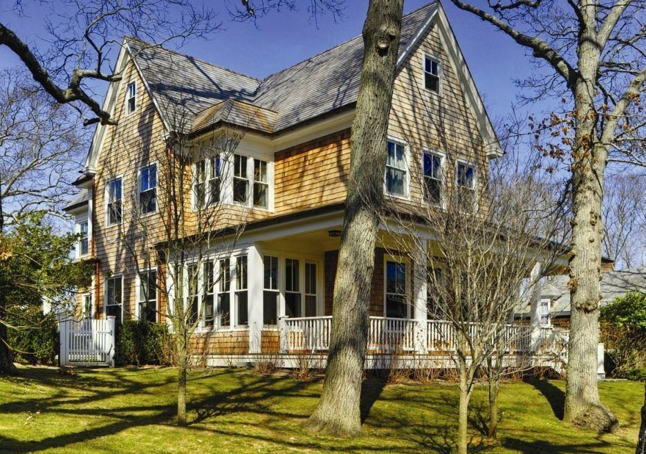 New House Made To Look Old But More Iouodern On The Market Curbed National