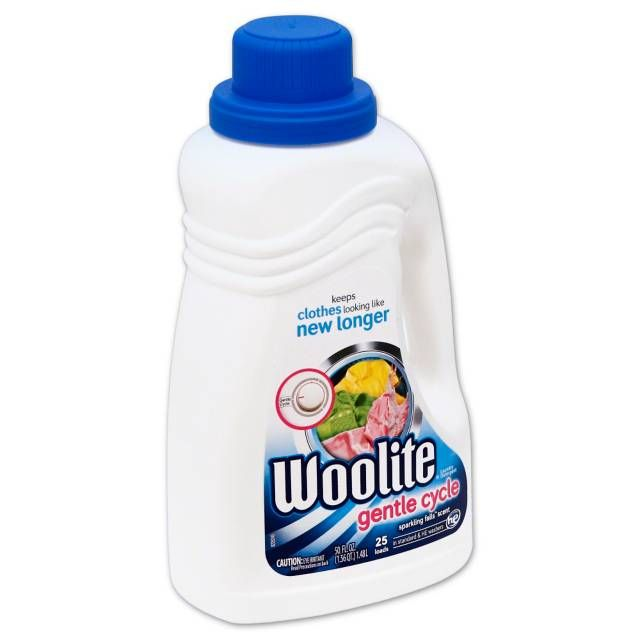 Woolite Gentle Cycle Laundry Detergent 50 Oz Sparkling Falls
