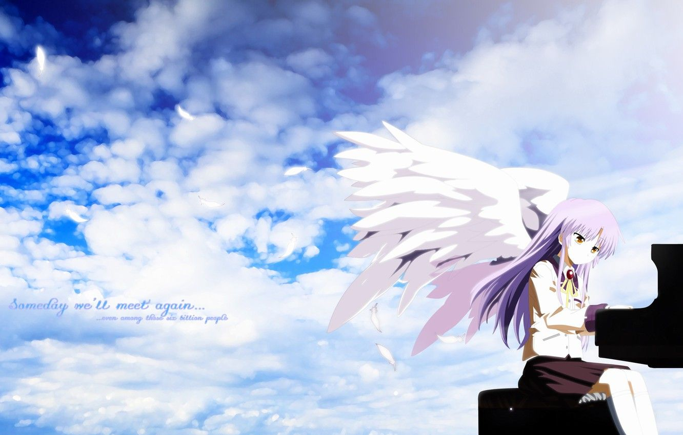 Wallpaper Angel Beats Kanade En 2020 Fondo De Pantalla De Anime Angel Beats Anime Manga