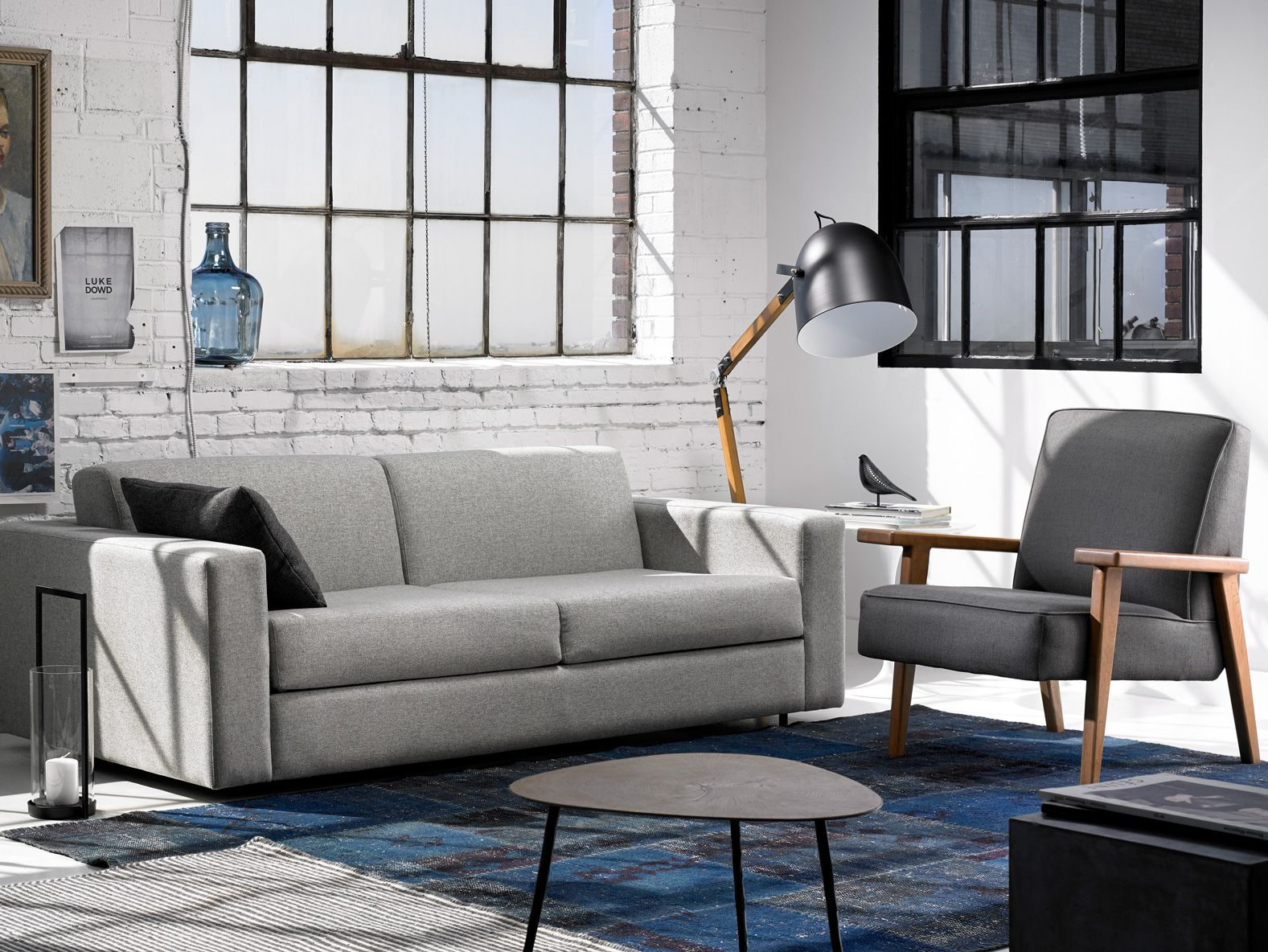 Schlafsofa York Luna Sofa Bed And York Chair By G Romano In Montreal Made To