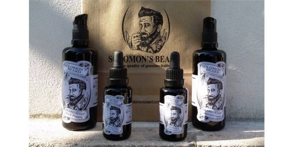 how to buy new arrive detailed pictures Solomon's Beard - Prodotti per la Barba Made in Italy ...