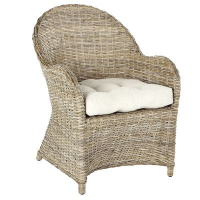 Our Indonesian Kubu Armchair Is Woven Entirely By Hand