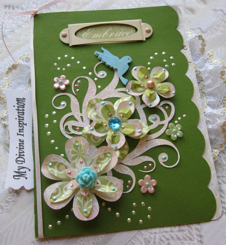 Birthday Card Scrapbook Inspiring Cards Pinterest