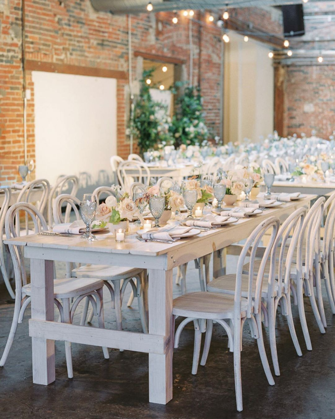 White Farm Table Wedding And Event Rentals In Columbus Ohio From Auburn Ivory Weddings Weddingrentals Weddingtables Farm Table Farm Table Wedding Table