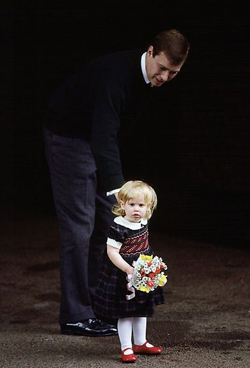 prince andrew daughters age