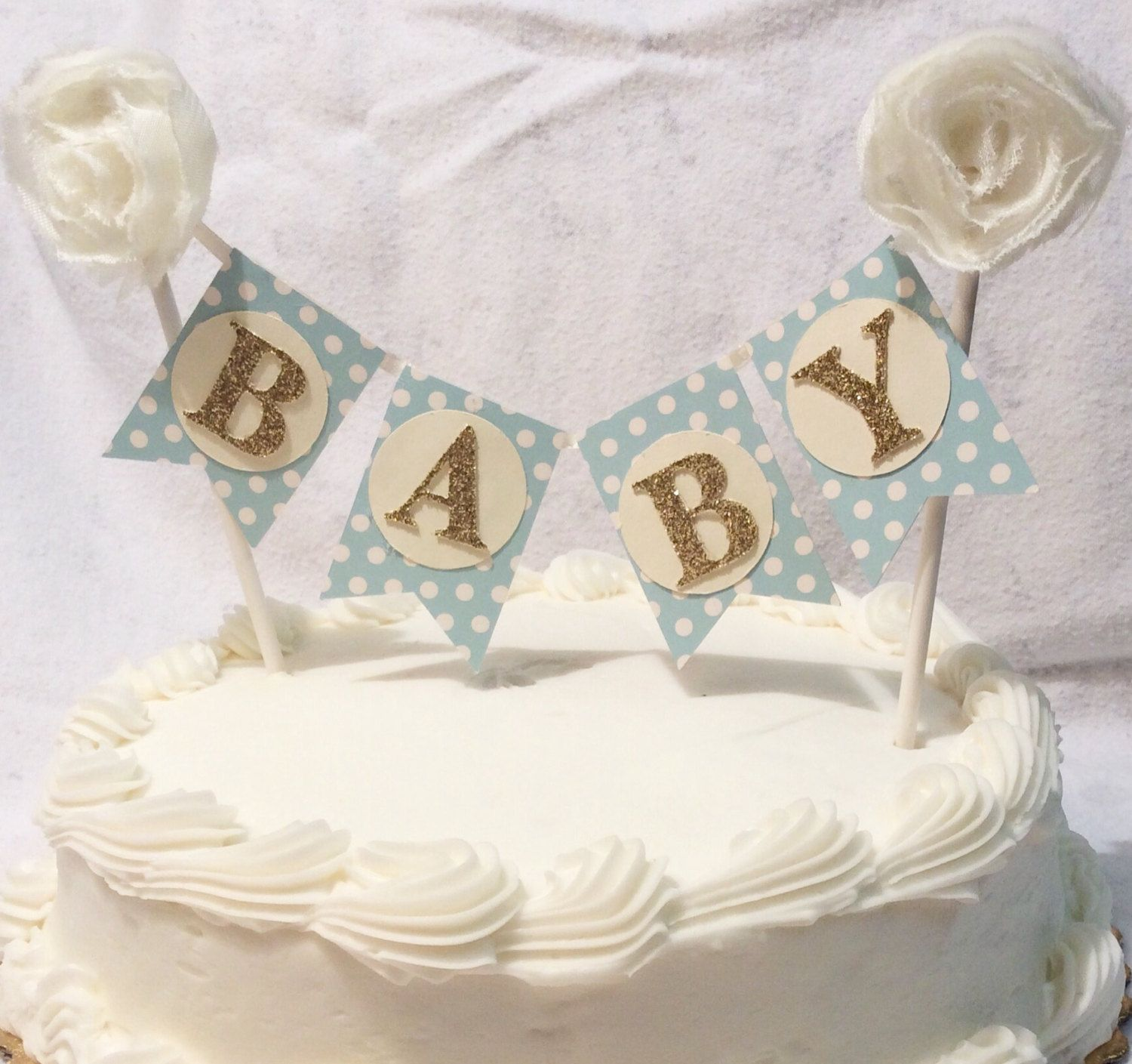shabby chic bridal shower cakes%0A Cake straw bannerbaby boybaby shower bannervintage bannershabby chic