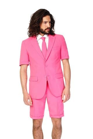ad662096694 The Pink Panther Summer Shorts Suit by Opposuits - Shinesty