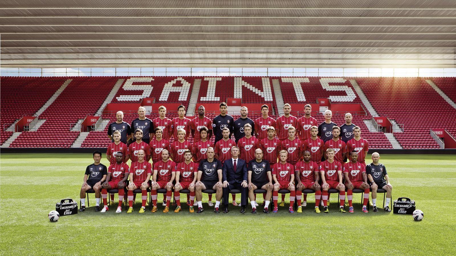 Southampton FC Squad Wallpaper 2013-2014