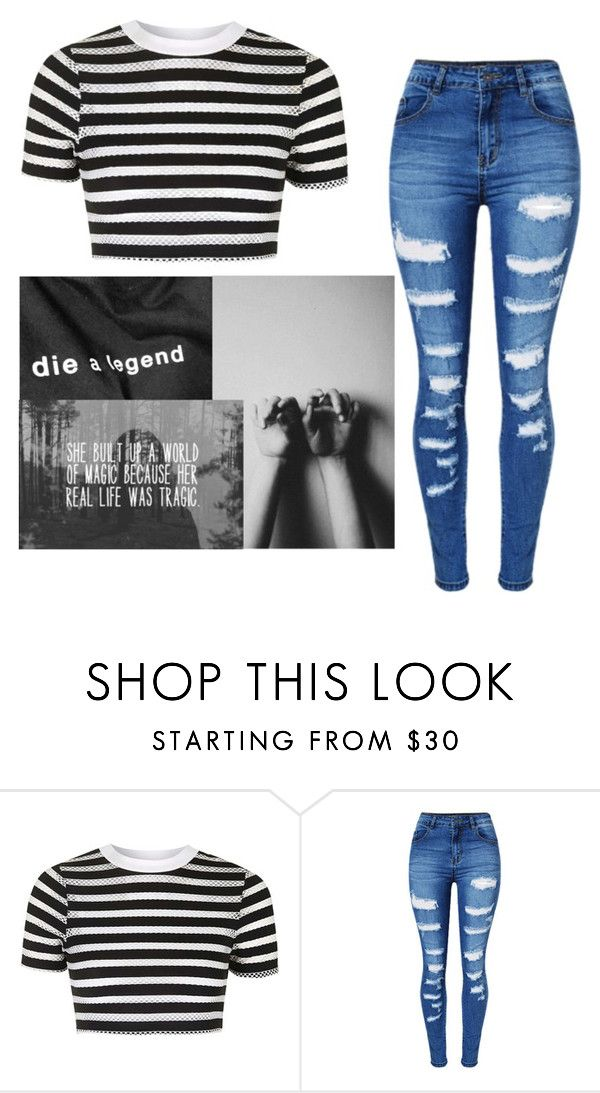 """""""❤️"""" by julianae101 on Polyvore featuring Topshop and WithChic"""