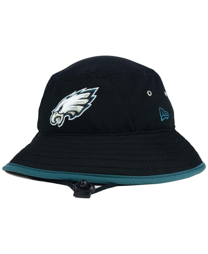 ca71d5ab6b314 New Era Philadelphia Eagles Training Bucket Hat