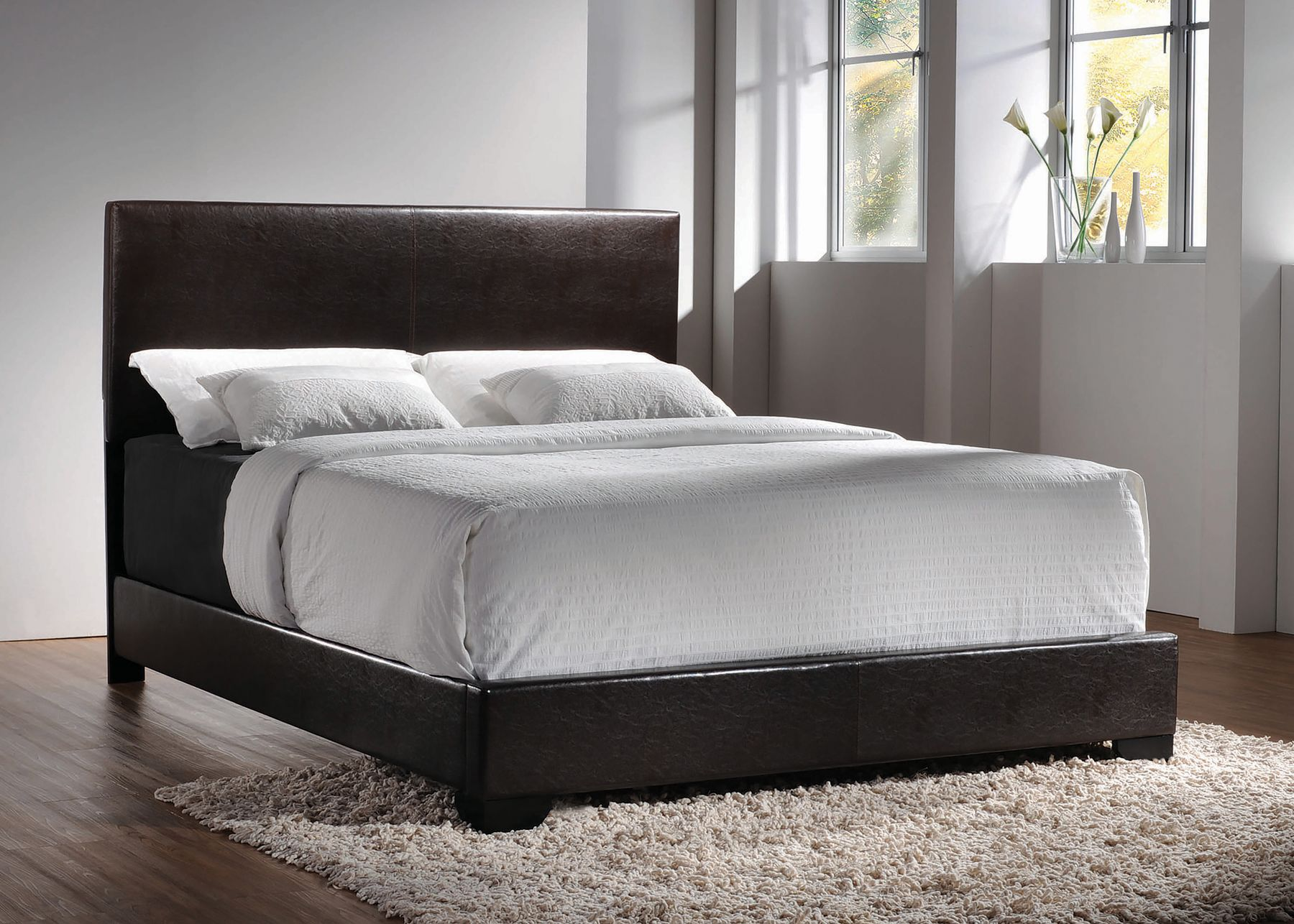 Conner Twin Size Bed 300261t Coaster Furniture Twin Size Beds In