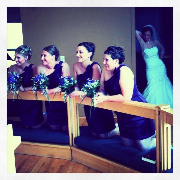 Bridal photo bomb at my best friend's wedding! Such a fun weekend! #wedding #photo #photobomb