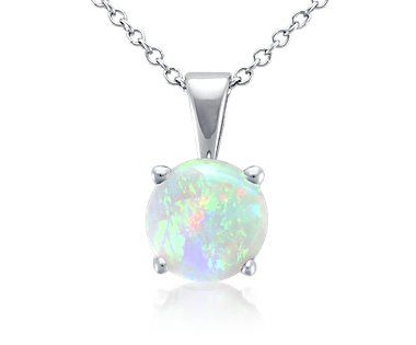 Opal pendant in 18k white gold jewelry fashion jewelry opal pendant in 18k white gold jewelry fashion aloadofball Images