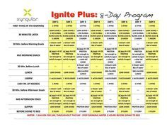 Pin by Jennell Prentice on Xyngular 8 day | Diet, Diet recipes, Protein