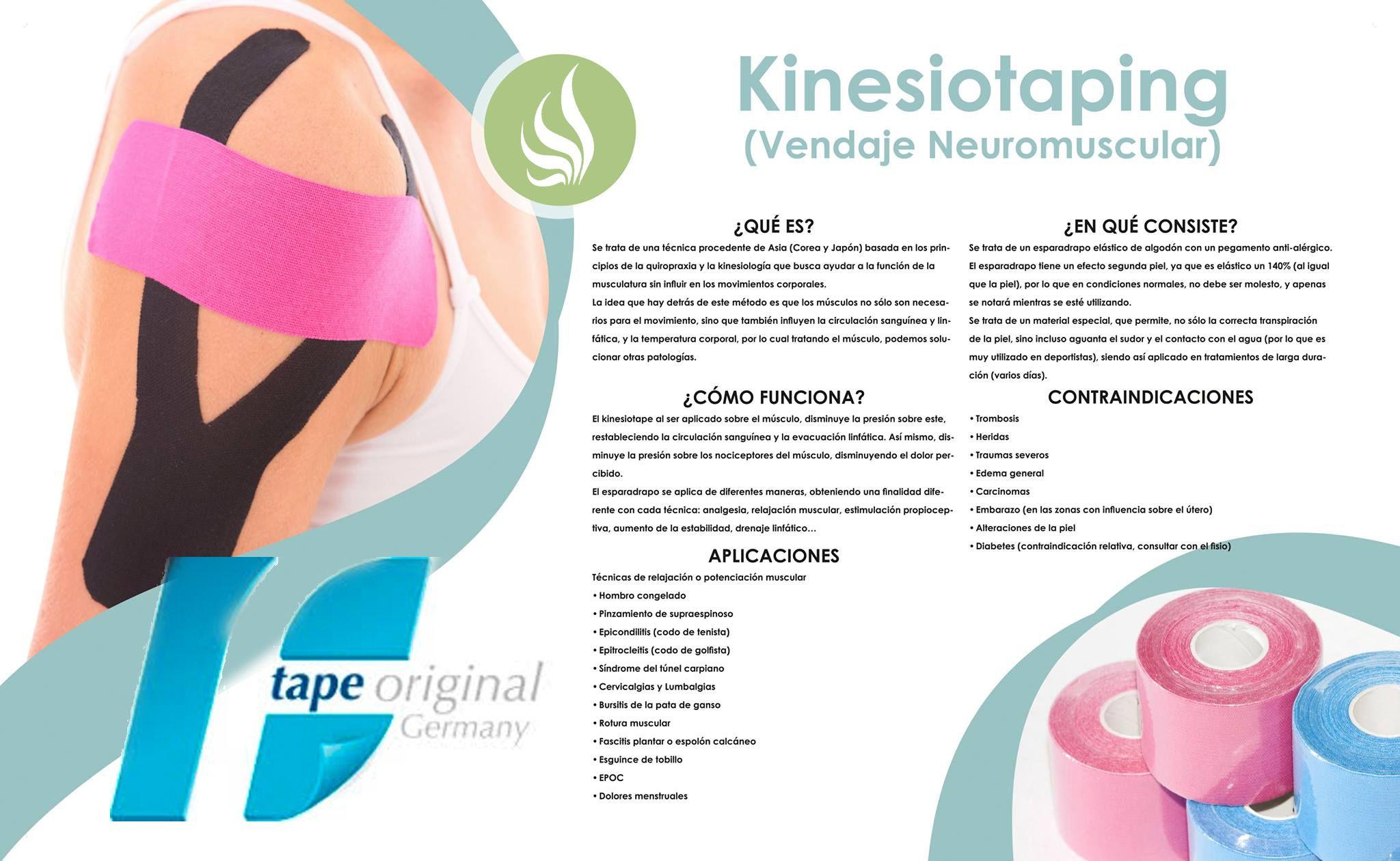 Kinesiotaping O Vendaje Neuromuscular Mucho Más Que Una Moda Vendaje Neuromuscular Vendaje Consejos Para La Salud