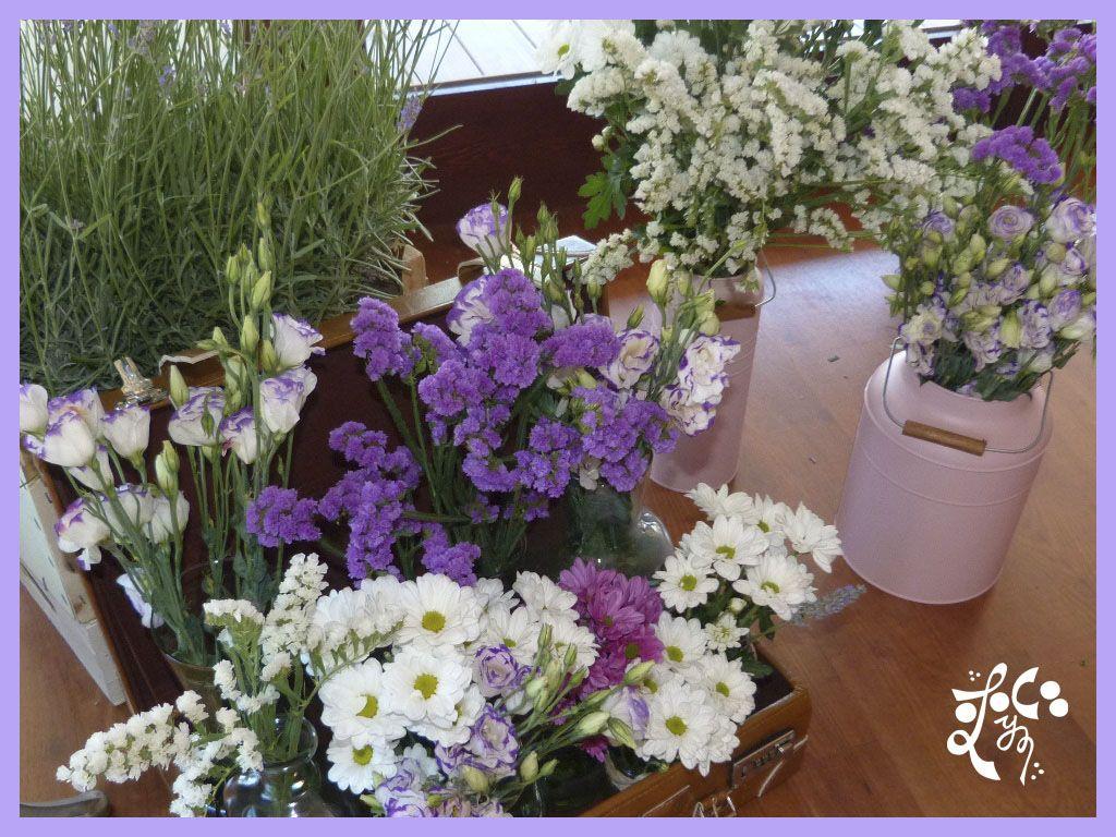 Detalle flores decoracion comunion valencia eleyce - Decoracion valencia ...