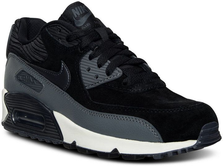 check out 43f2b 101dd Nike Women s Air Max 90 Leather Running Sneakers from Finish Line