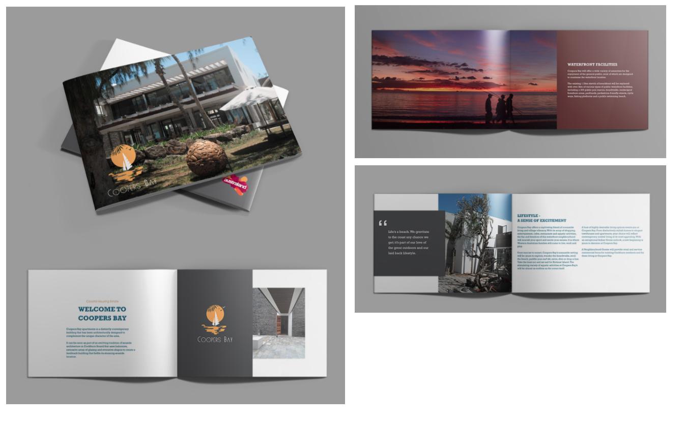 apartment brochure design. Brochure Design For Coastal Luxury Apartment O