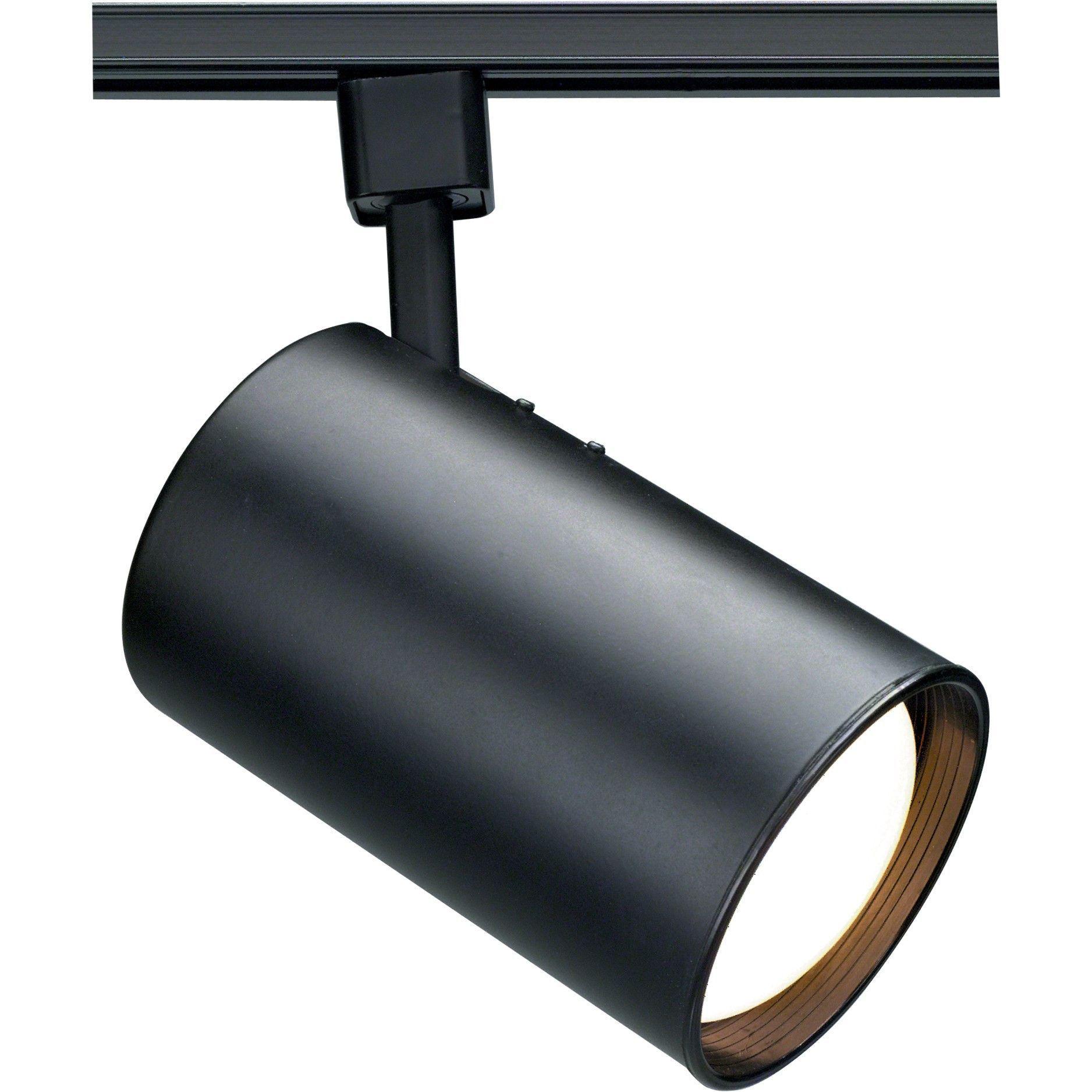 1 Light R30 Track Lighting Head Straight Cylinder