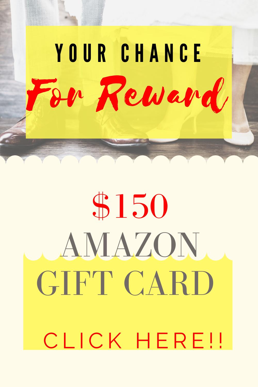Your Chance For Reward 150 Amazon Gift Card Amazon Gifts Amazon Gift Cards Gift Card