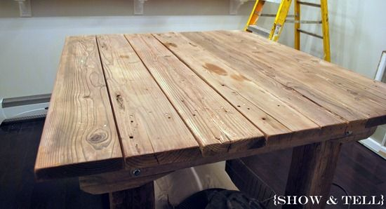 tutorial on how to age new wood so easy! | Verwittertes