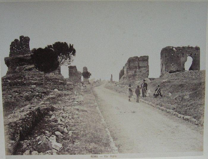 Via Appia 1880