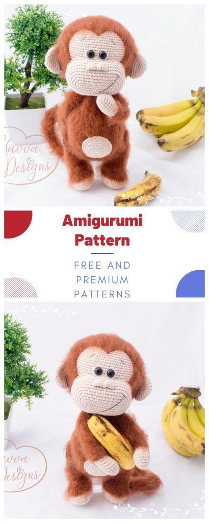 Amigurumi Doll And Animal Crochet Patterns - Amigurumi #crochetanimalamigurumi