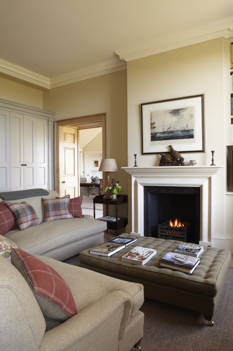 Neutral And Relaxing Living Room In Pointing By Farrow