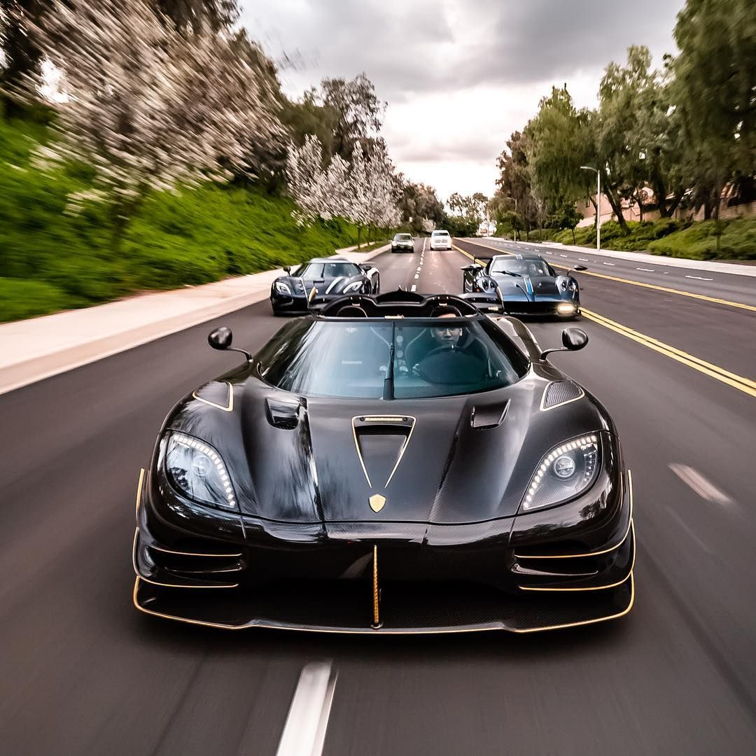 Mike Yin On Instagram Some More Amazing Roller Shots By Carson Smith Koenigsegg Pagani Black Blue Carbo Koenigsegg Super Cars Super Luxury Cars