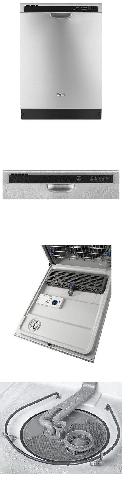 Dishwashers 116023 Whirlpool 55 Decibel Built In Dishwasher