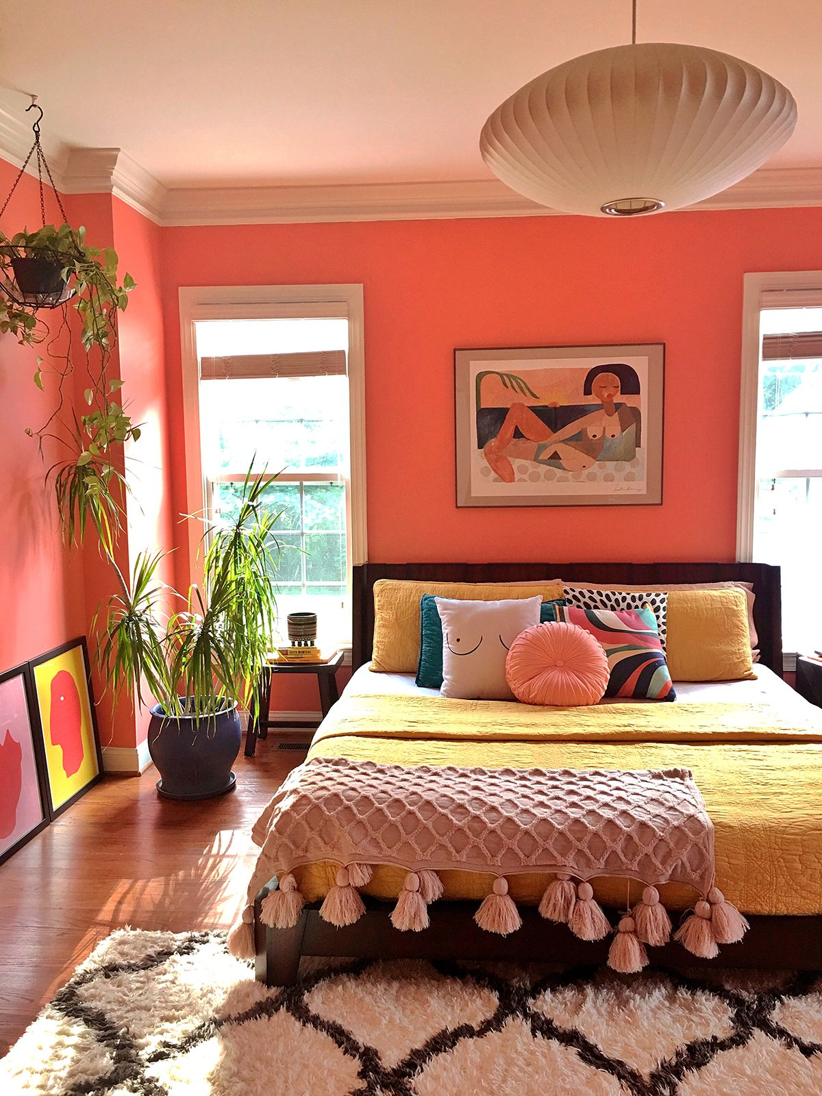 Pad Peek: Living in Color with Stacey Blake of Design Addict Mom | Justina Blakeney