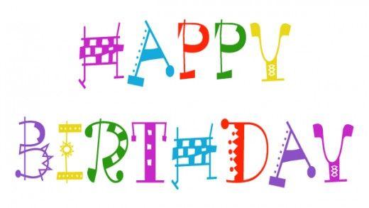 free happy birthday clip art printables happy birthday and birthdays rh pinterest com Happy Birthday Flowers Clip Art Free Happy Birthday Flowers Clip Art Free