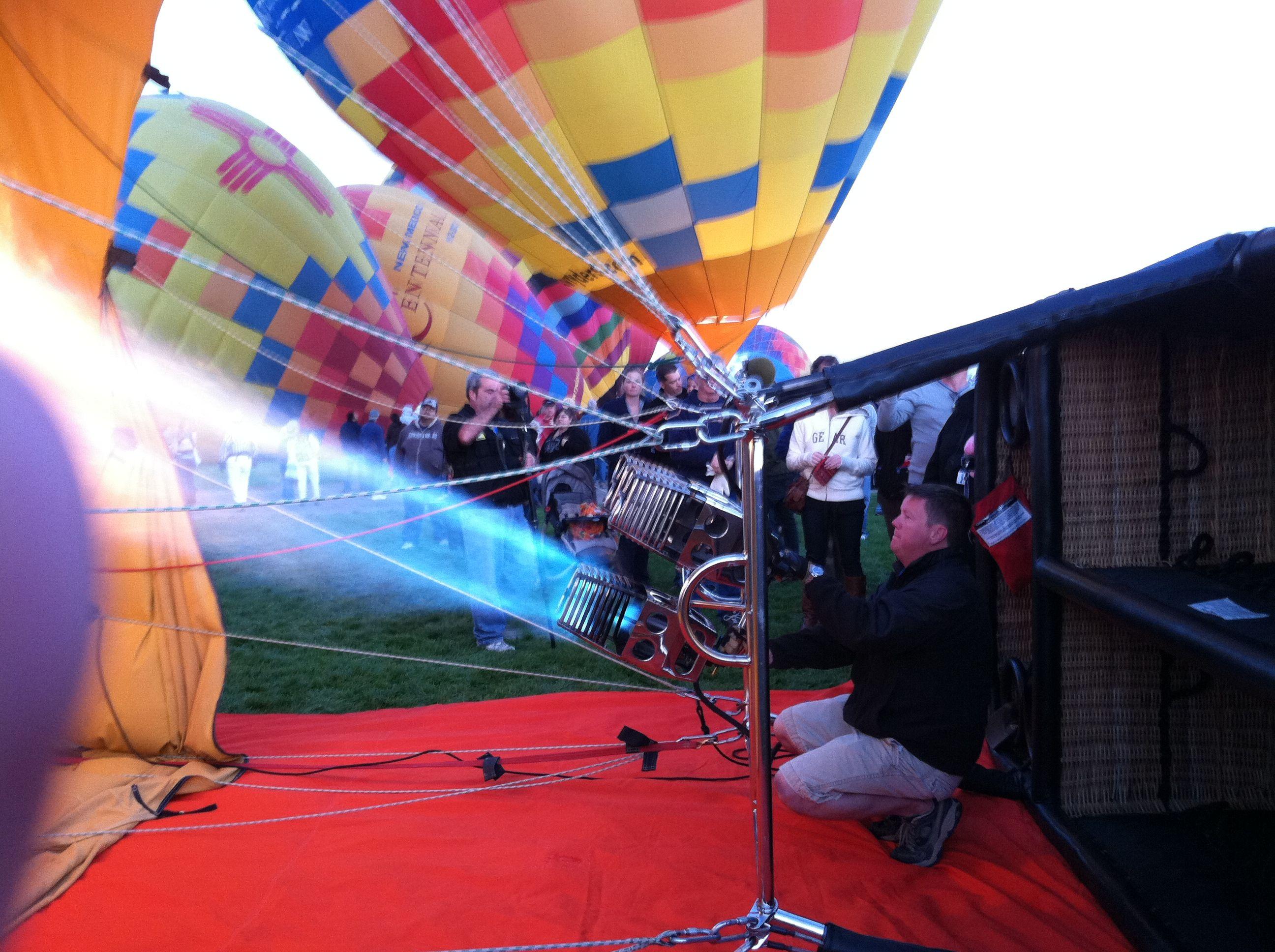 Balloon Fiesta 2011 Arizona, Grounds, Travel