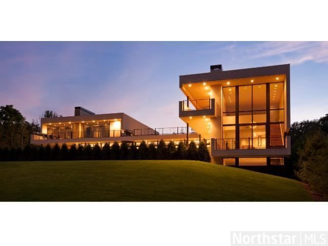 Landmark contemporary estate is unparalleled in pedigree. Saint Louis Park, MN Coldwell Banker Burnet $4,995,000
