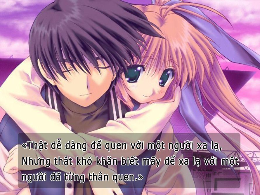 câu nói ý nghĩa (Có hình ảnh) Anime, Cặp đôi hoạt hình