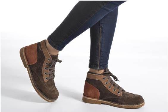 Chaussures à lacets Legendoknew Kickers vue portées chaussures ... 5c48e5a0481f