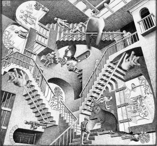 K.T. Escher's Impossible Staircases