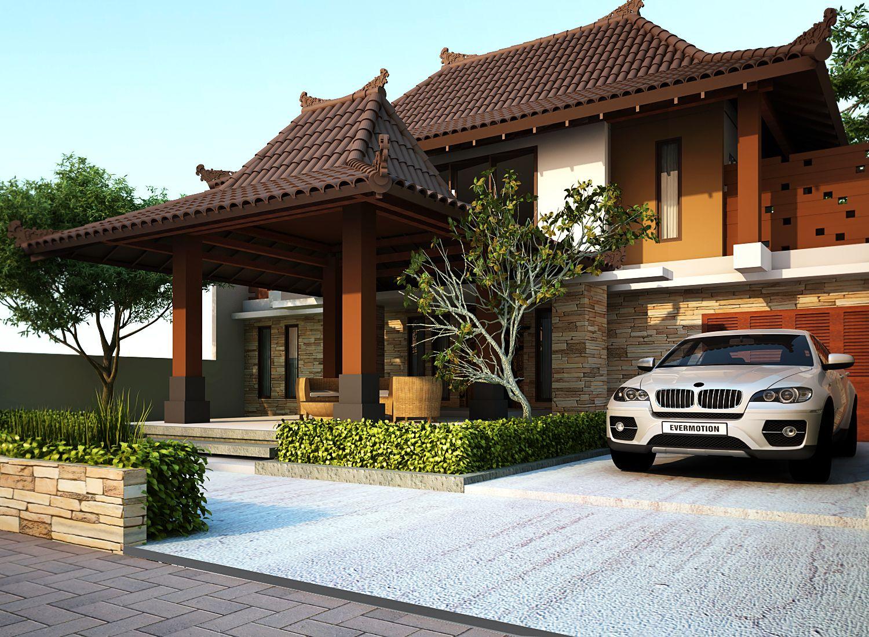 Desain Rumah Joglo Modern Yang Minimalis Dream House Pinterest