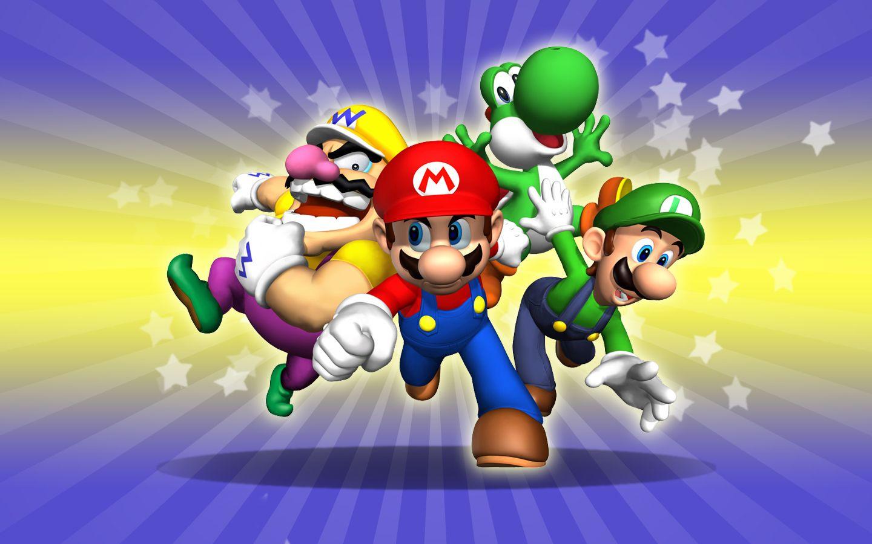 Super Mario Wallpaper Hd Wallpaper 3d Abstract Wallpapers Juegos De Mario Mario Y Luigi Super Mario Bros