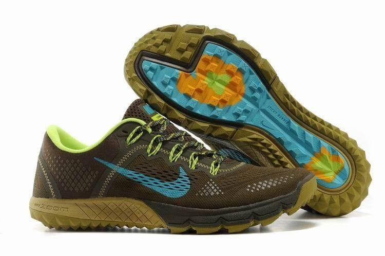 Nike Zoom Terra Kiger Men's Trail Running Shoe Olive Green Blue